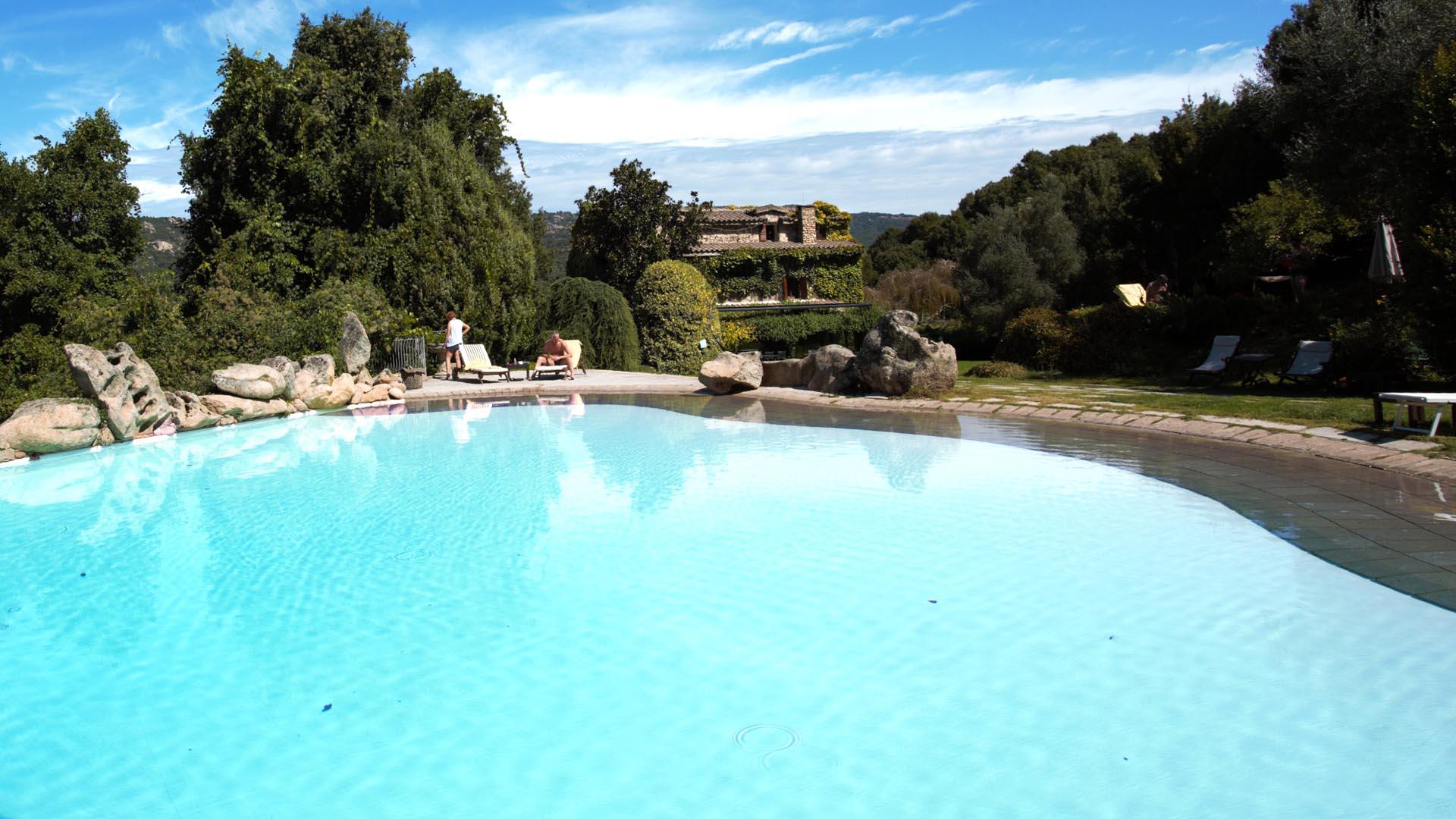 L agnata di de andré hotel con piscina in sardegna