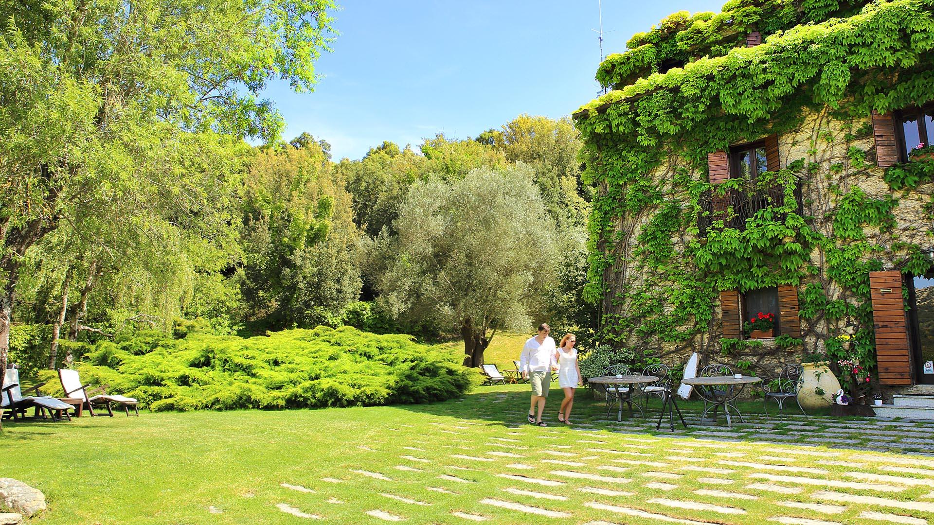 Il giardino dell 39 agnata di de andr country hotel in - Il giardino di ausonia ...